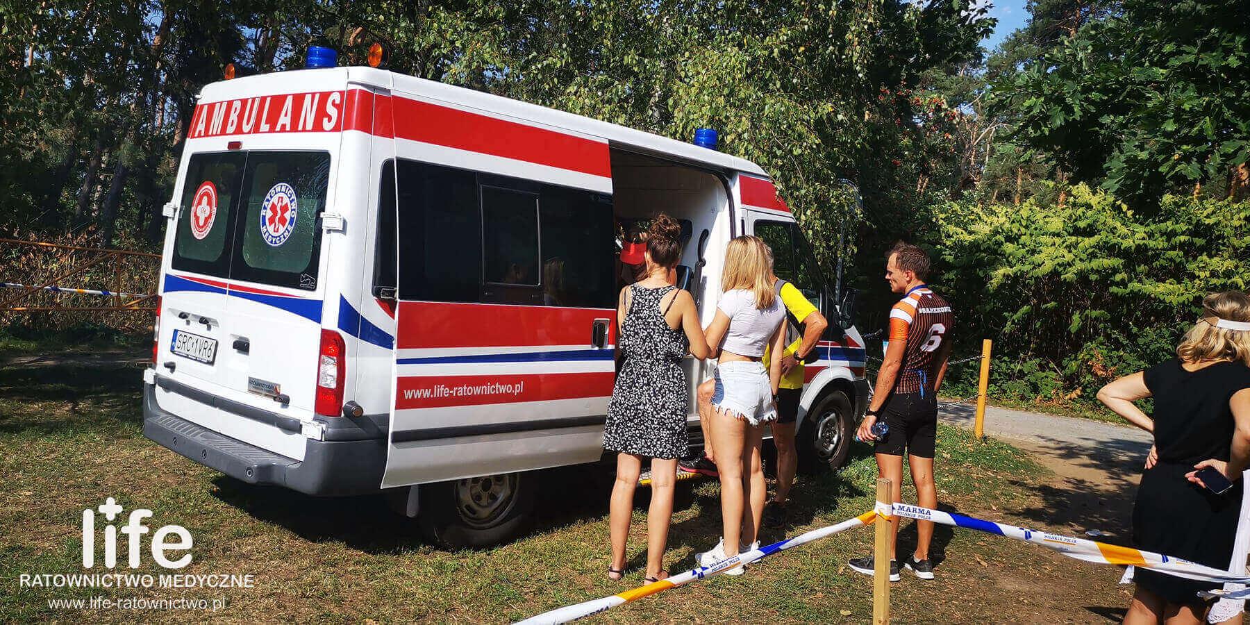 Zabezpieczenie medyczne Triathlonu Śląsk Katowice Opole