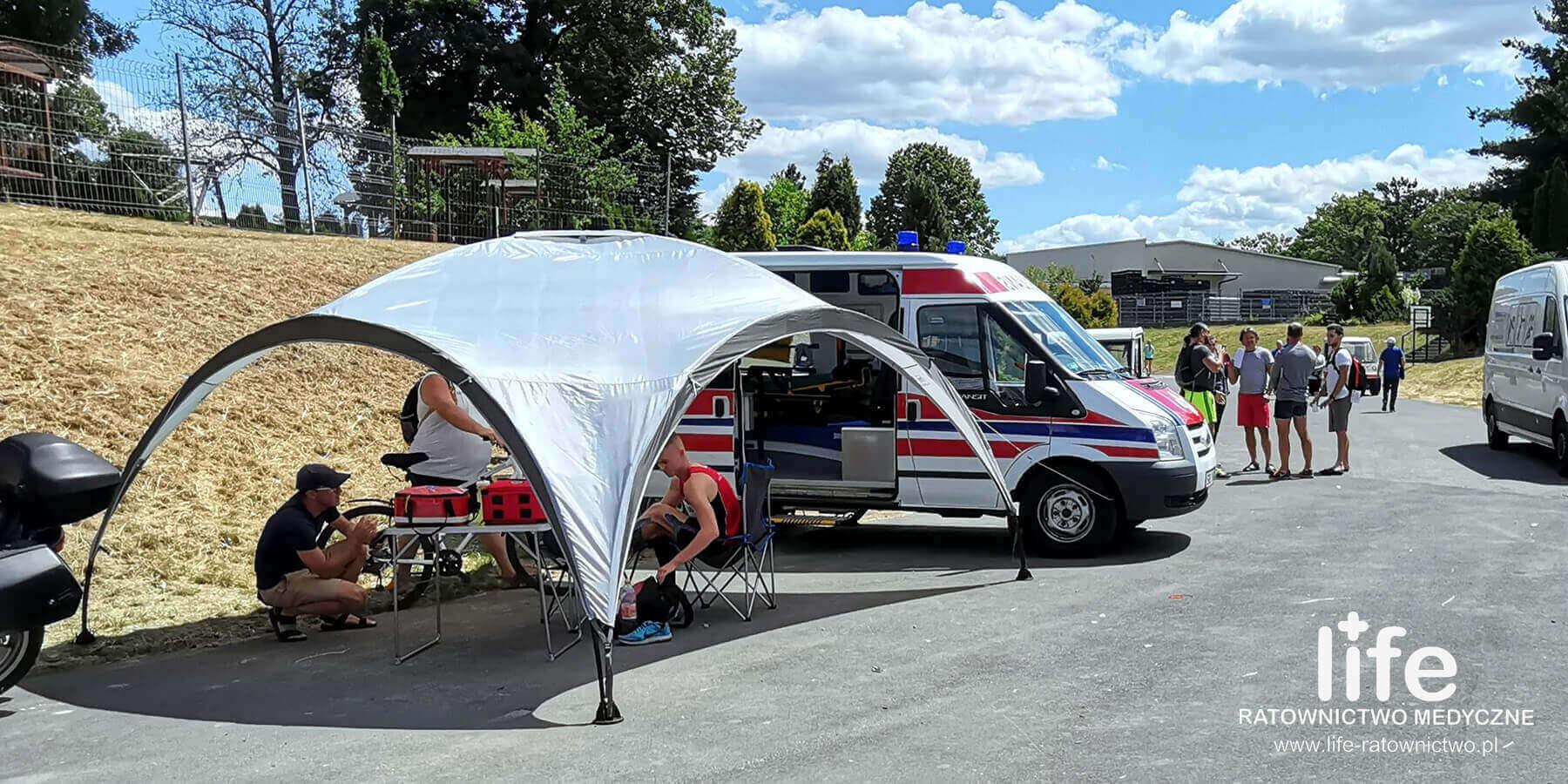 Zabezpieczenie medyczne imprez sportowych Śląsk Katowice
