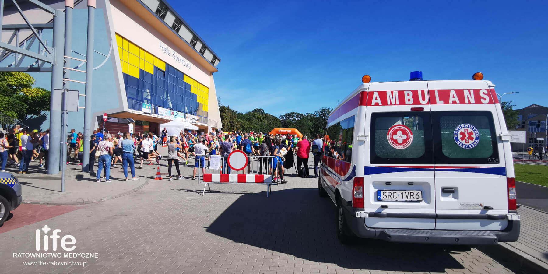 Zabezpieczenia medyczne Śląsk Katowice Racibórz Opole