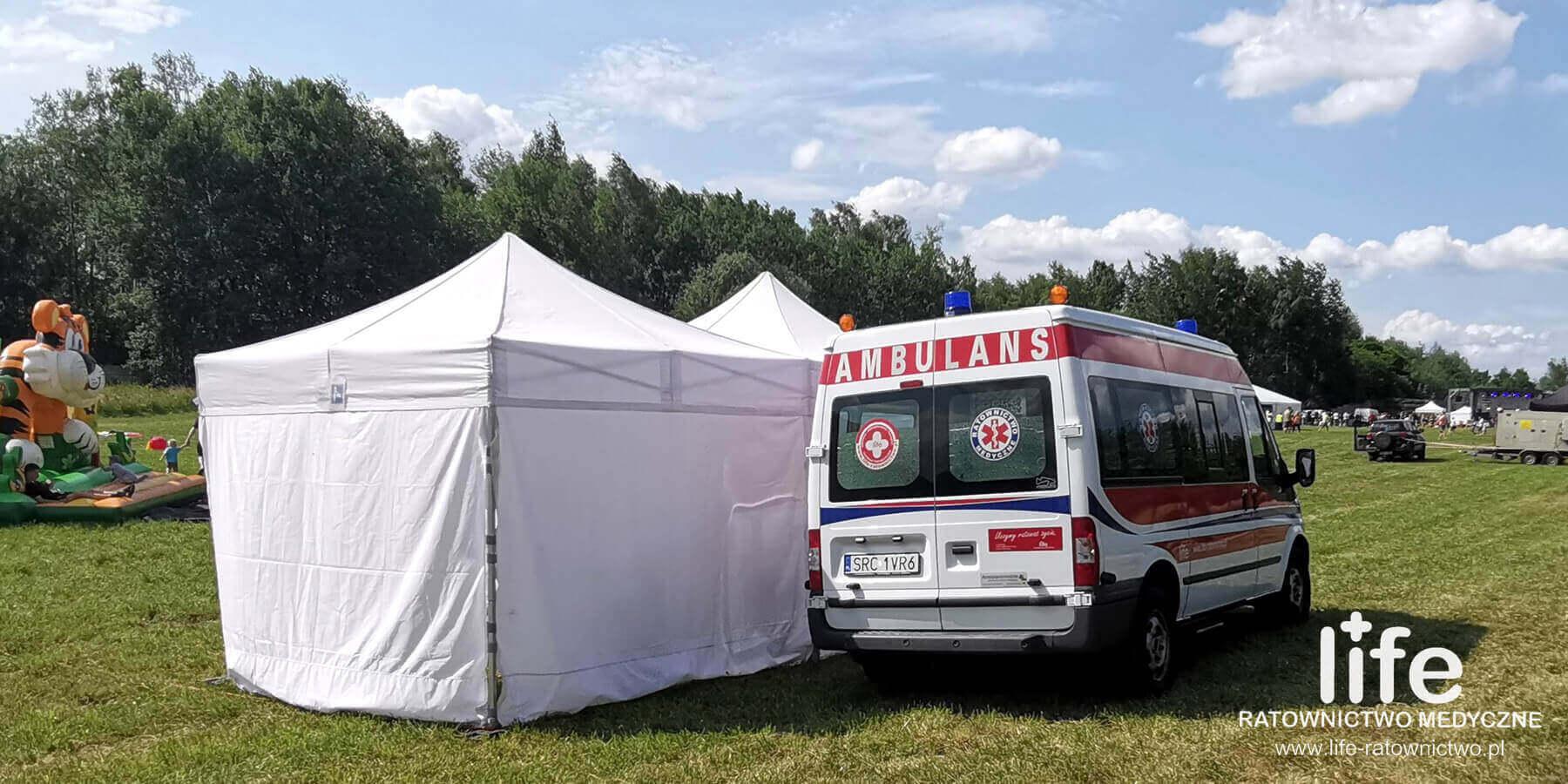 Zabezpieczenia medyczne na imprezach rodzinnych Katowice Śląśk